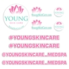Young Skin Care Promo Decal Package
