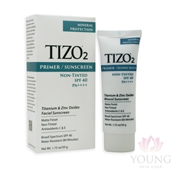TIZO 2 Non-Tinted Face Mineral SPF40 Sunscreen , 1.75 oz
